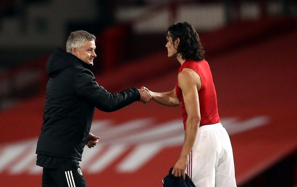 I'm doing my best to keep Cavani at Man Utd – Solskjaer