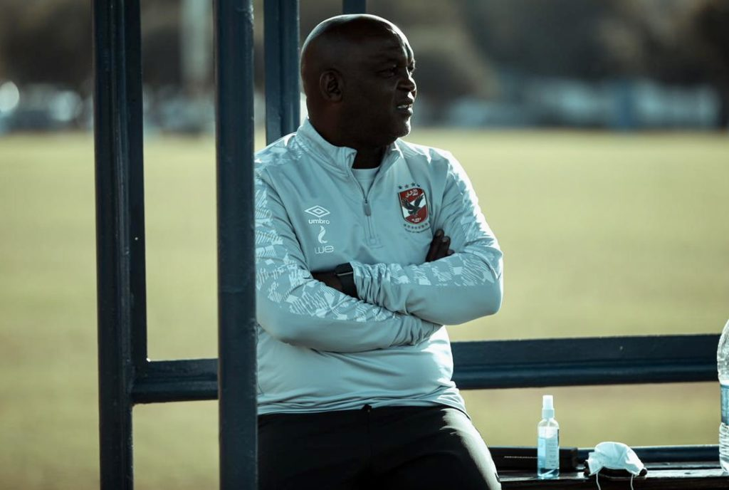 Pitso: It's not about South Africa, it's about winning the title