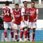Aubameyang strikes on return in Arsenal win