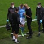 De Bruyne leaves hospital with fractured nose and eye socket