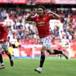 Cavani welcomes fans back to Man Utd in style in Fulham draw