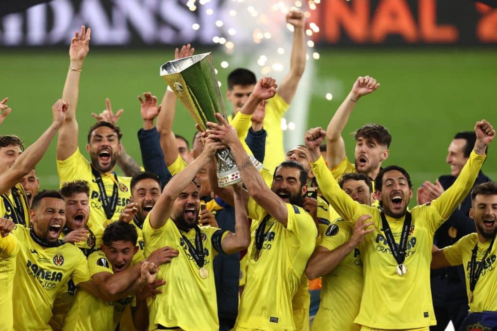 Villarreal win Europa League in epic shootout against Man Utd