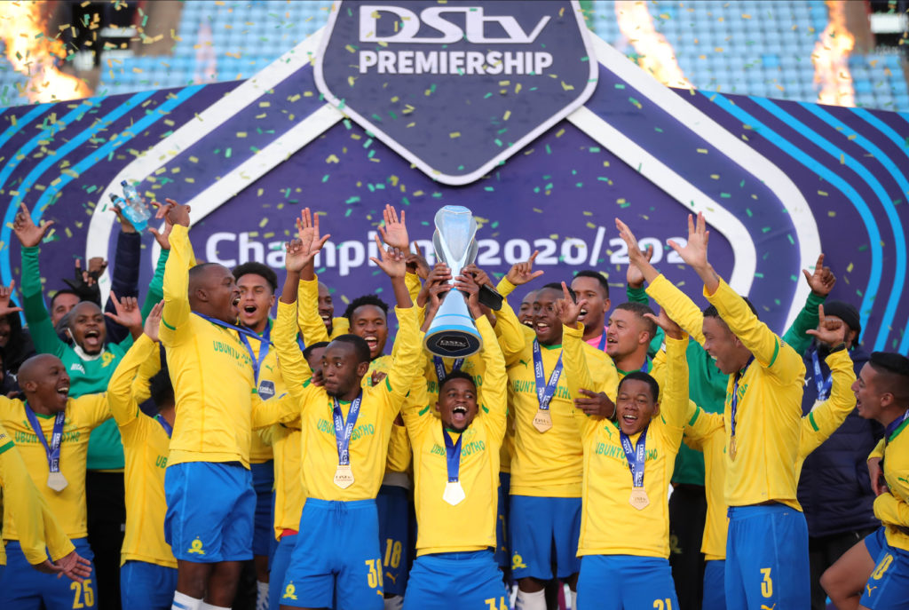 Watch: Sundowns camp reacts to historic fourth consecutive league crown