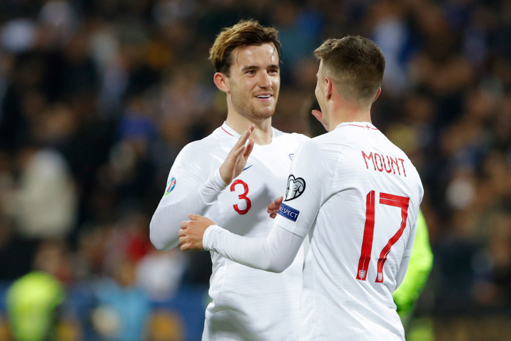 England confirm Mount, Chilwell out of Czech Republic game