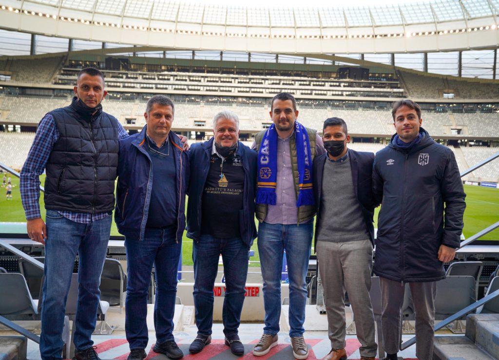 CT City announce partnership with European club FK Partizan