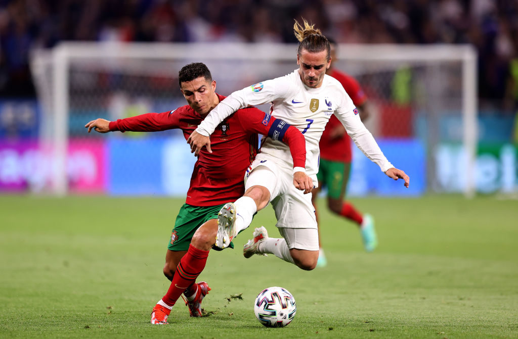 Portugal 2-2 France: Honours even in Euro 2020 Group F decider