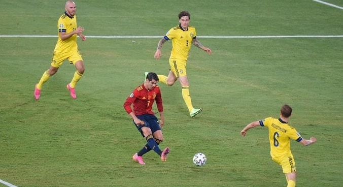 Morata, Spain vs Sweden
