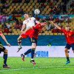 Lewandowski scores for Poland against Spain