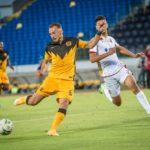 Samir Nurkovic of Kaizer Chiefs scoring against Wydad