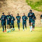 Kaizer Chiefs training ahead of the clash against Wydad