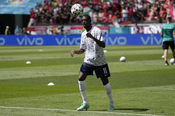 France's Ousmane Dembele ruled out of Euro 2020 by knee injury
