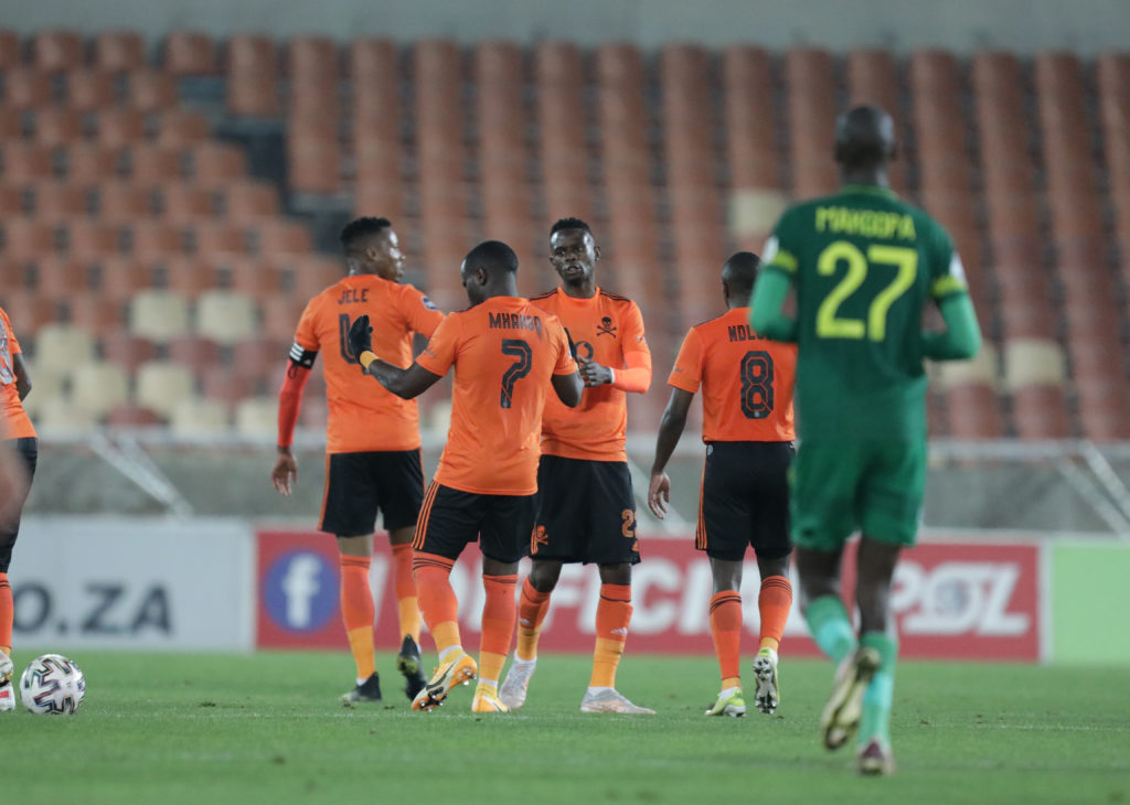 Pirates up to third with late win over Baroka