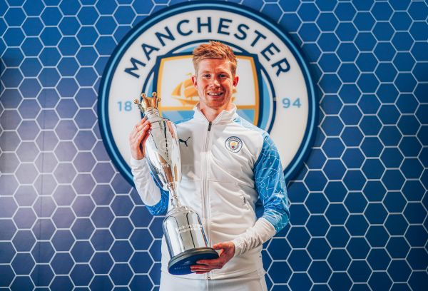 De Bruyne named PFA Men's Player of the Year for second season in a row