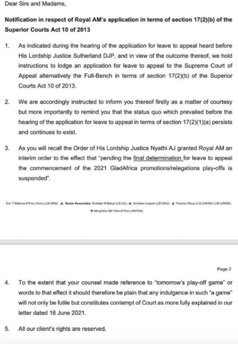 PSL court decision