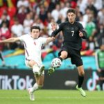 Harry Maguire of England vs Germany