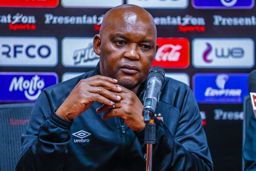 Pitso without six players for Caf Champions League final