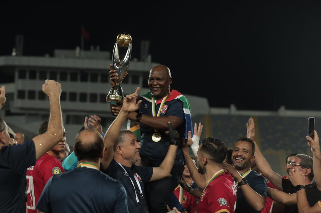 Pitso guides Al Ahly past Chiefs to clinch CCL title