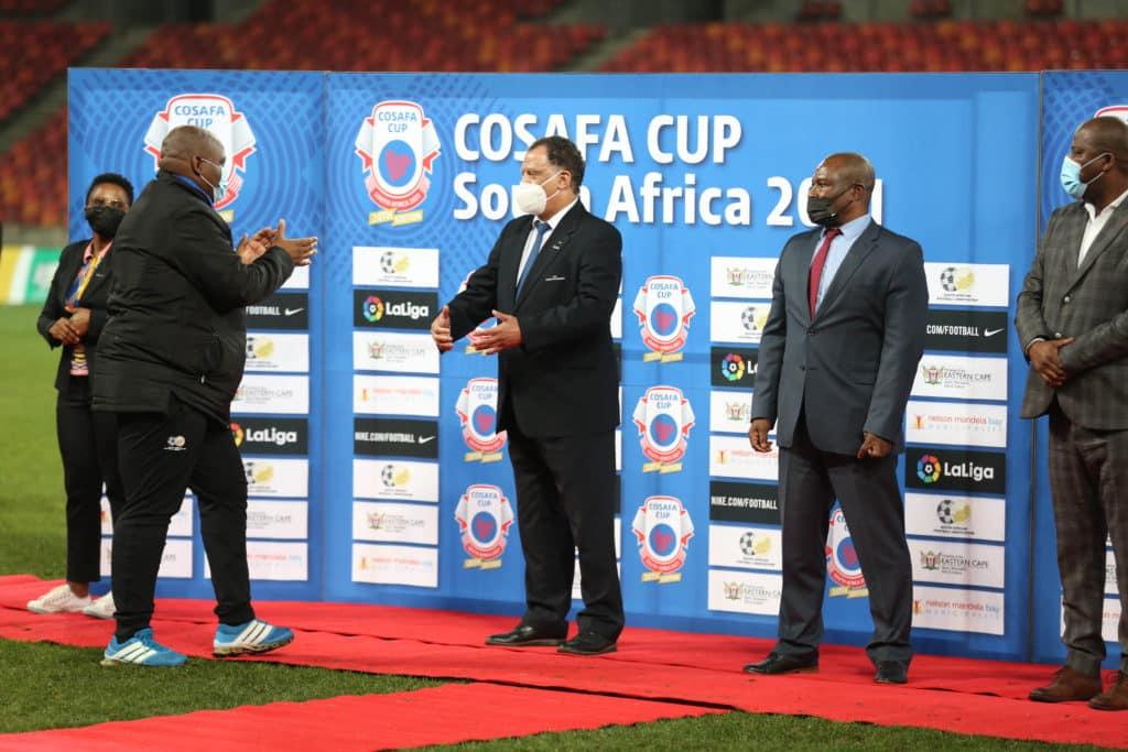 Ramoreboli hails Bafana's performance against Senegal