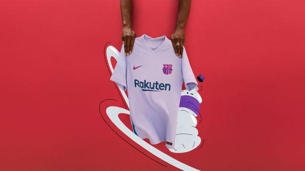 Nike reveal new Barcelona away kit for 2021/22 season