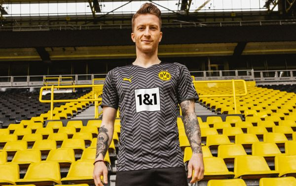 Borussia Dortmund drop their new Puma away kit for the 2021-22 season