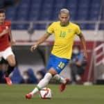 Richarlison of Brazil against Egypt
