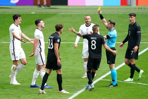 Southgate: It would be an insult to Ukraine to rest booked players
