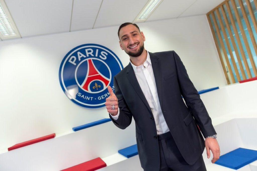 Donnarumma signs five-year deal at Paris St Germain