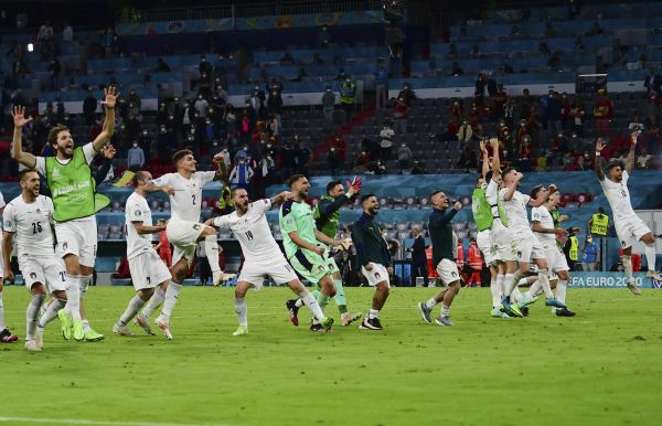 Euro 2020 Match-day 22 – Italy and Spain set up grandstand semi-final
