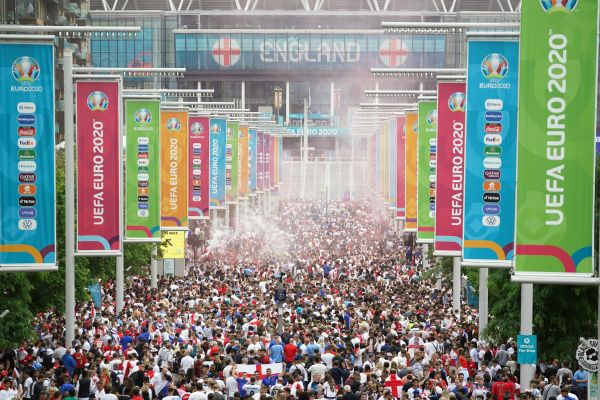 Football Association launches investigation into trouble at Euro 2020 final