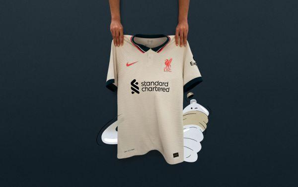 Liverpool reveal 90s-inspired Nike away shirt