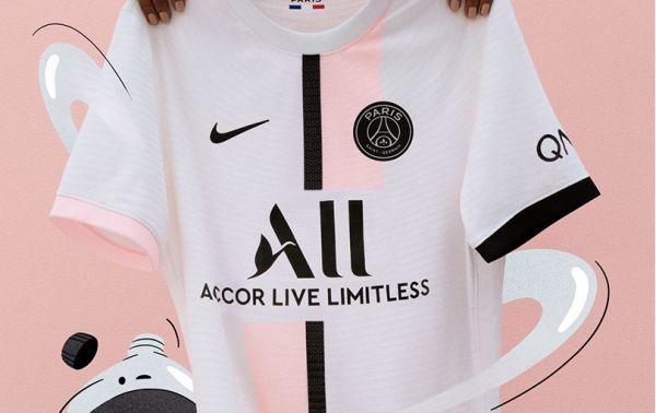Paris Saint-Germain release their brand-new 2021-22 Nike away kit
