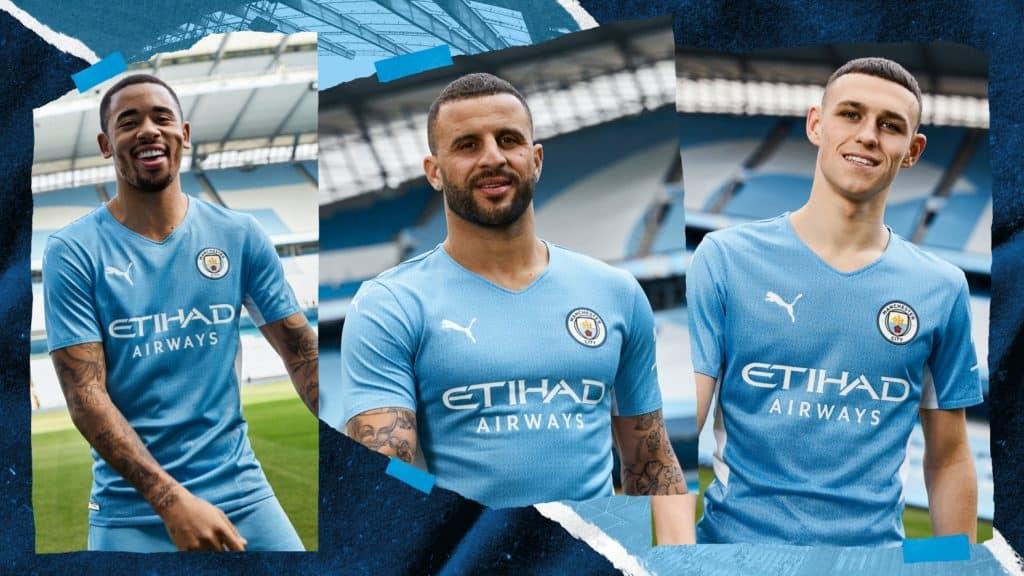 PUMA unveils new Man City home kit