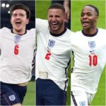 Sterling, Maguire, Walker in Euro 2020 team of tournament