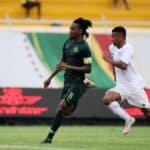 Ndah Olisa of Nigeria and Orlando Pirates