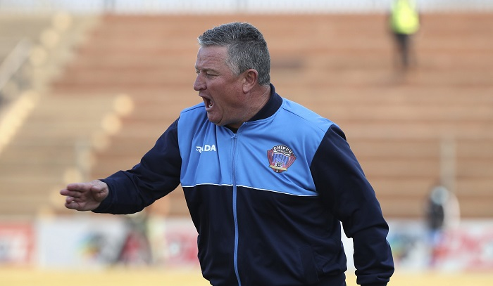 Gavin Hunt, coach of Chippa United