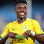 Themba Zwane of Mamelodi Sundowns