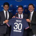Messi, PSG, PSG President