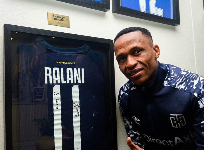 "Bradley ""Surprise"" Ralani of Cape Town City"