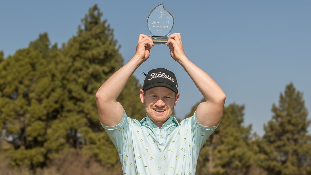 'It feels different to be a Sunshine Tour winner'
