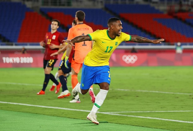 Brazil edge Spain to claim Olympic gold medal