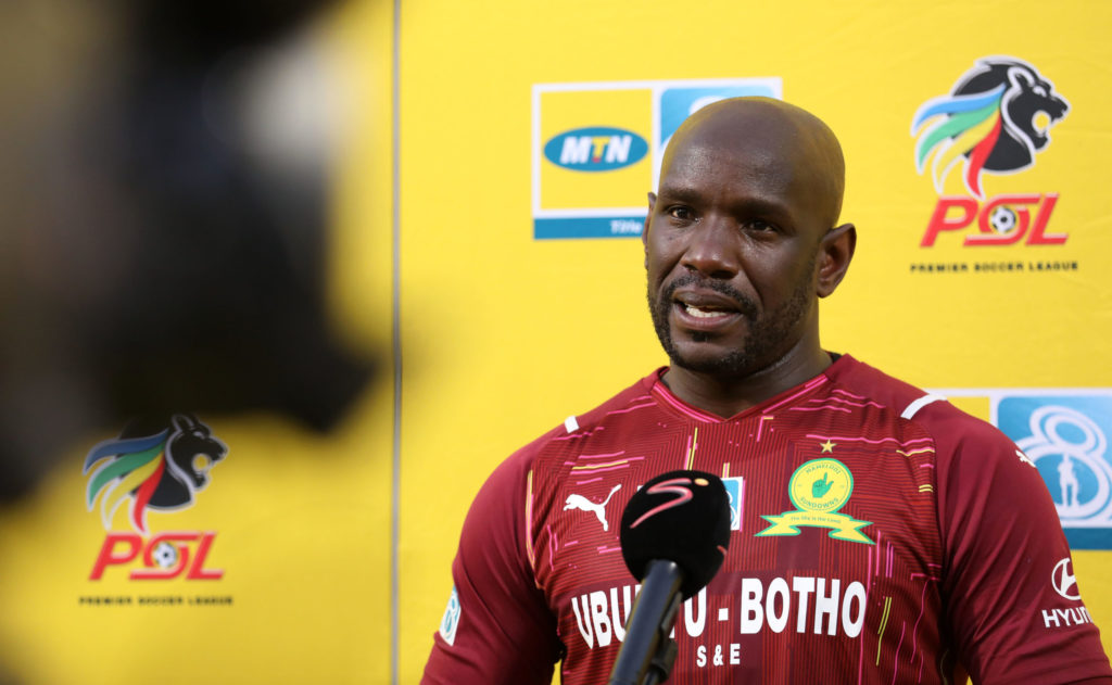 Mweene reveals conversation with Khune after controversial penalty