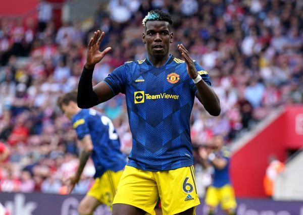 Pogba frustrated by Man Utd's draw at Southampton