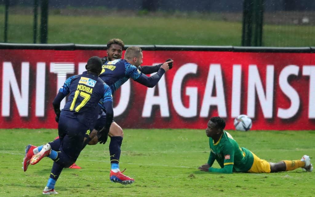 Watch: Pavol Šafranko grabs his first goal for Sundowns