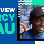 Watch: Percy Tau reacts to scoring first goal for Brighton