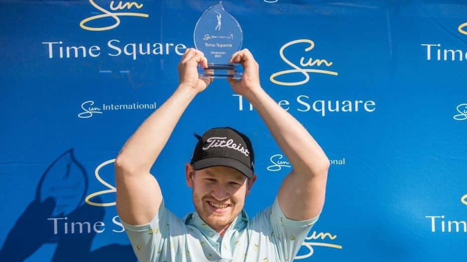 Conradie breaks through with SunBet Challenge win