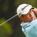 MEMPHIS, TN - AUGUST 06: Collin Morikawa (USA) watches his tee shot on 2 during Rd2 of the WGC FedEx St. Jude Invitational at TPC Southwind, on August 6, 2021 in Memphis, Tennessee. (Photo by Ken Murray/Icon Sportswire via Getty Images)