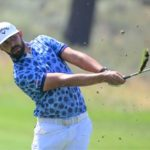 TRUCKEE, CALIFORNIA - AUGUST 08: Erik van Rooyen of South Africa plays a second shot on the ninth hole during the final round of the Barracuda Championship at Tahoe Mountain Club's Old Greenwood Golf Course on August 08, 2021 in Truckee, California. (Photo by Alex Goodlett/Getty Images)