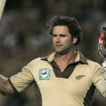 AUCKLAND, NEW ZEALAND - FEBRUARY 16: Chris Cairns of New Zealand waves to the crowd as he leaves the pitch during the Twenty20 International match between New Zealand and the West Indies at Eden Park February 16, 2006 in Auckland, New Zealand. (Photo by Phil Walter/Getty Images)