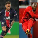 Neymar and Lukaku