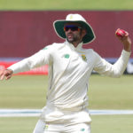 Keshav Maharaj of South Africa fielding during the 2020 Betway Test Series day4 match between South Africa and Sri Lanka at Supersport Park, Centurion, on 29 December 2020 ©Samuel Shivambu/BackpagePix